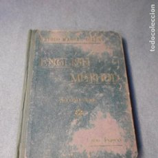 Libros antiguos: EJERCICIOS PRACTICOS PARA EL ESTUDIO DEL INGLES. Lote 221602895