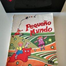 Libros antiguos: LIBRO PEQUEÑO MUNDO EDICIONES SM DE 1977 BUEN ESTADO EN GENERAL LIBRO DE LECTURA. Lote 221694123