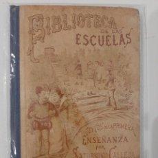Libros antiguos: BIBLIOTECA DE LAS ESCUELAS XI. YNDUSTRIA COMERCIO Y CARRERAS DE ESPAÑA. SATURNINO CALLEJA. 1901. Lote 221886951