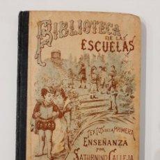 Libros antiguos: BIBLIOTECA DE LAS ESCUELAS IX. AGRICULTURA. SATURNINO CALLEJA. 1901. Lote 221887540