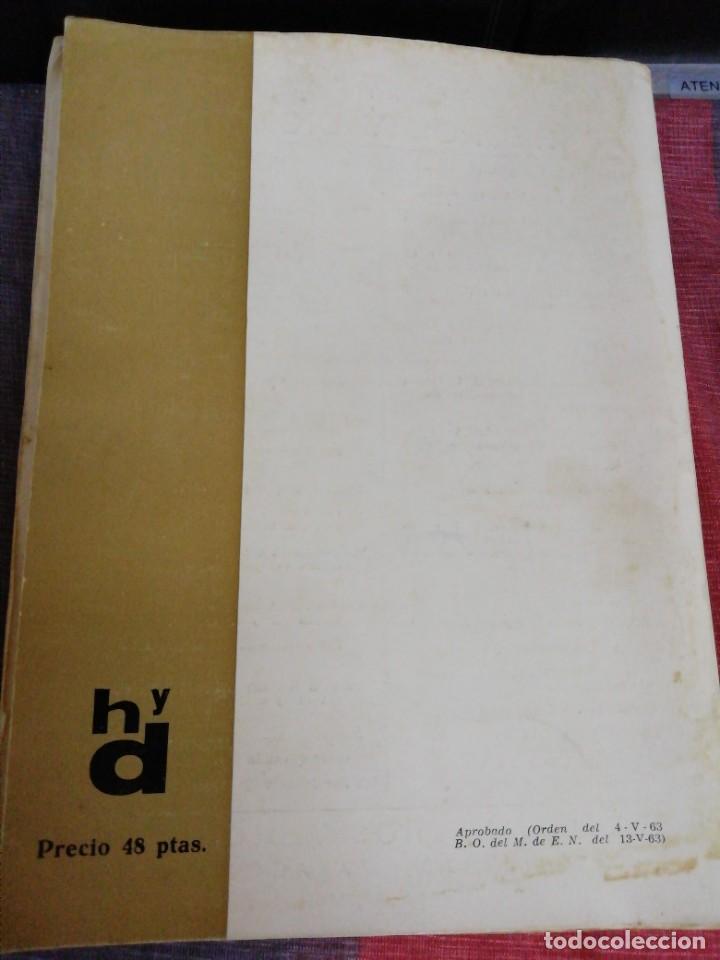 Libros antiguos: Textos literarios comentados Sexto curso Plan 1957 Zaragoza - Foto 5 - 221894052