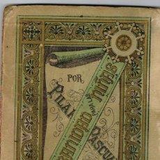 """Libros antiguos: 1918 PEQUEÑO LIBRITO DE ED. HIJOS DE PALUZIE """"URBANIDAD PARA LAS NIÑAS"""" DE PILAR PASCUAL DE SANJUÁN. Lote 221902096"""
