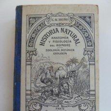 Libros antiguos: HISTORIA NATURAL. ANATOMÍA Y FISIOLOGÍA DEL HOMBRE. BRUÑO. S/F. Lote 222117347