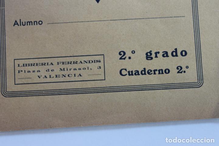 Libros antiguos: EL TRABAJO ACTIVO, POR J. SANCHO CASTRO, EJERCICIOS DE GRAMATICA 2º GRADO, Nº 2, VALENCIA 1 - Foto 2 - 222704932