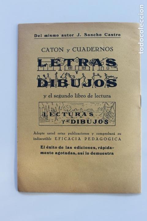 Libros antiguos: EL TRABAJO ACTIVO, POR J. SANCHO CASTRO, EJERCICIOS DE GRAMATICA 2º GRADO, Nº 2, VALENCIA 1 - Foto 5 - 222704932