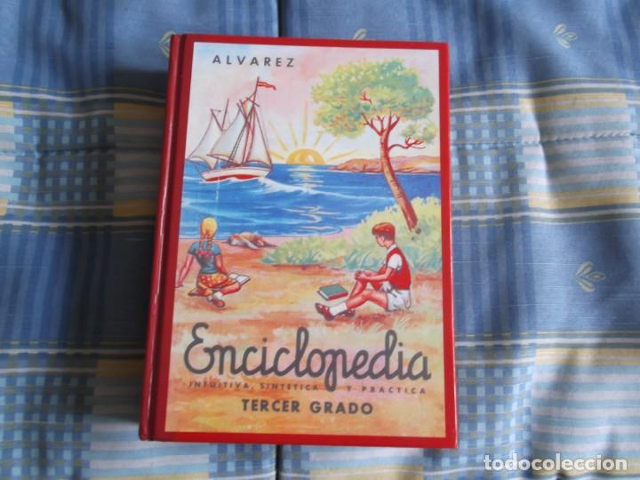 ENCICLOPEDIA ALVAREZ 3 GRADO --EDAF 1997 (Libros Antiguos, Raros y Curiosos - Libros de Texto y Escuela)
