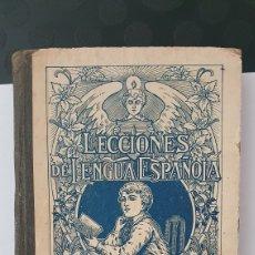 Libri antichi: LECCIONES DE LENGUA ESPAÑOLA/ SEGUNDO GRADO G.M BRUÑO/AÑO 1935. Lote 224424623