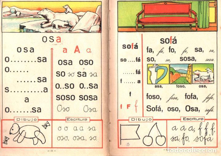 Libros antiguos: ALABART BALLESTEROS : MI PRIMER LIBRO 1ª Y 2ª PARTES (BASTINOS BOSCH, 1933) - Foto 2 - 224484995