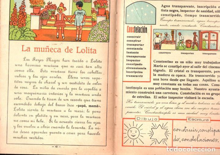 Libros antiguos: ALABART BALLESTEROS : MI PRIMER LIBRO 1ª Y 2ª PARTES (BASTINOS BOSCH, 1933) - Foto 3 - 224484995