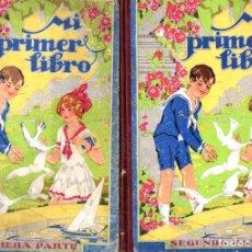 Libros antiguos: ALABART BALLESTEROS : MI PRIMER LIBRO 1ª Y 2ª PARTES (BASTINOS BOSCH, 1933). Lote 224484995