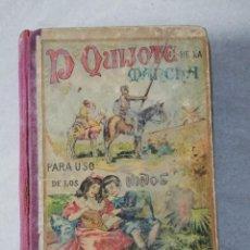 Libros antiguos: LIBRO DON QUIJOTE DE LA MANCHA PARA NIÑOS (CERVANTES), ED. SUCESORES DE HERNANDO 1927, CON DESPERFEC. Lote 224691406