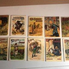 Libros antiguos: 10 CUENTOS DE CALLEJA DE FACSÍMIL 10X7CM. Lote 224767428