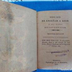 Livres anciens: T-400.- LIBRO-- NUEVA ARTE DE ENSEÑAR A LEER A LOS NIÑOS DE LAS ESCUELAS , 1824, SEGUNDA EDICION.. Lote 225021540
