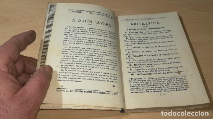 Libros antiguos: ARITMETICA / EZEQUIEL SOLANA / 1932 EL MAGISTERIO ESPAÑOL / S+206 - Foto 5 - 226131955