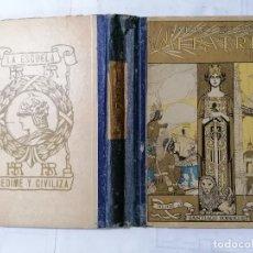 Libros antiguos: MI PATRIA POR GABINO ENCISO VILLANUEVA, IMPRENTA HIJOS DE SANTIAGO RODRIGUEZ, BURGOS, 200 GRABADOS. Lote 228039015