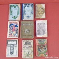 Libros antiguos: LOTE 13 + 2 REGALO. LIBROS ESCOLARES Y LECTURA PRINCIPIO S-XX.. Lote 229066150