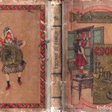 Libros antiguos: PILAR PASCUAL DE SANJUAN : ESCENAS DE FAMILIA (PALUZIE, 1895). Lote 230095970