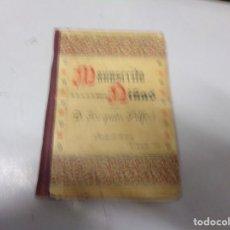 Libros antiguos: MANUSCRITO PARA NILÑAS POR JOAQUIN PELFORT - 3A EDICION 1899. Lote 230195530