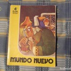 Libros antiguos: MUNDO NUEVO 4º EGB ANAYA. Lote 230234850