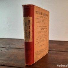 Livres anciens: SOLUCIONES ANALITICAS... - LIBRO DEL MAESTRO - D. JOSE DALMAU CARLES - 1936, 39ª EDICION, GERONA. Lote 230286130
