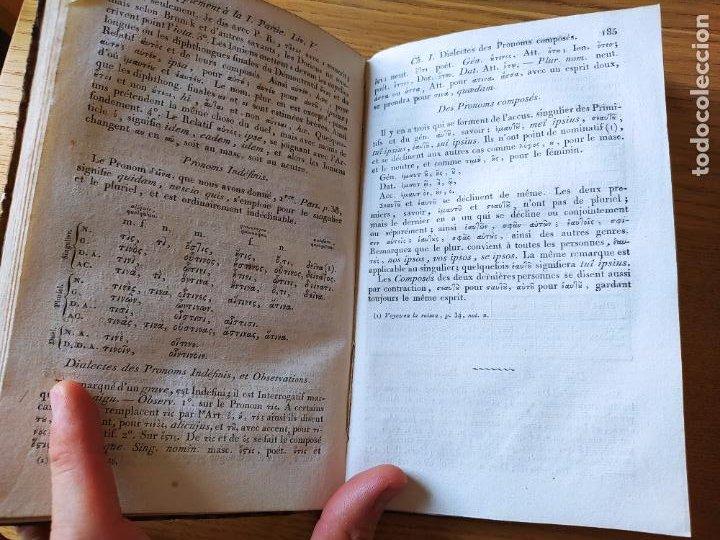 Libros antiguos: Nouvelle grammaire grecque à lusage des Lycées, GAIL (J.-B.) P., Delalain, 1813, in 8° - Foto 14 - 232165005