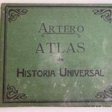 Livros antigos: ATLAS DE HISTORIA UNIVERSAL - ARTERO AÑOS 20. Lote 232597730