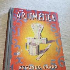 Libros antiguos: ANTIGUO LIBRO ESCOLAR ARITMÉTICA SEGUNDO GRADO POR EDELVIVES AÑO 1960. Lote 233434155