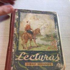Libros antiguos: ANTIGUO LIBRO LECTURAS SEGUNDO GRADO EDELVIVES AÑO 1951. Lote 233434895