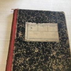 Libros antiguos: ANTIGUO LIBRO / CUADERNO ESCOLAR GEOGRAFIA Y HISTORIA FINALES 1800. Lote 233435295