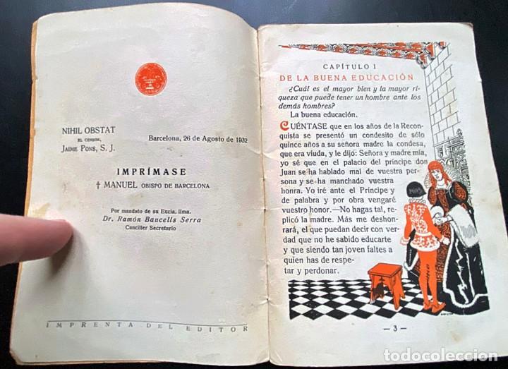Libros antiguos: CARTILLA MODERNA DE URBANIDAD - Foto 2 - 237485895