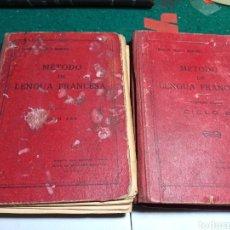 Libros antiguos: MÉTODO DE LENGUA FRANCESA PRIMER AÑO Y SEGUNDO CURSO 1934 Y 1935 TARSICIO SECO Y MARCOS. Lote 239510245
