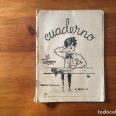 Libros antiguos: CUADERNO ESCOLAR , AÑO 1952. Lote 239588945