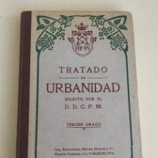 Libros antiguos: TRATADO DE URBANIDAD. TERCER GRADO. IMP. ELZEVIRIANA, BORRÁS, MESTRES Y CÍA. 1918. Lote 239821850