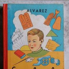 Libros antiguos: ENCICLOPEDIA ALVAREZ SEGUNDO GRADO, AÑO 1962,. Lote 240015670