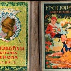 Livros antigos: ENCICLOPEDIA GRADO ELEMENTAL DALMAU CARLES PLA 1933. Lote 240718065