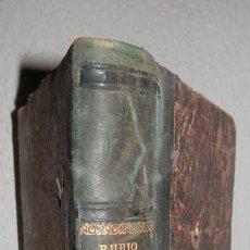 Libros antiguos: ANTIGUO LIBRO DE ARITMÉTICA Y ALGEBRA - 1889. Lote 243219260