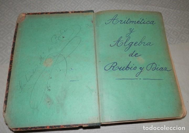 Libros antiguos: ANTIGUO LIBRO DE ARITMÉTICA Y ALGEBRA - 1889 - Foto 3 - 243219260