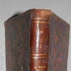 Libros antiguos: ANTIGUO LIBRO DE ALGEBRA - 1881. Lote 243220995