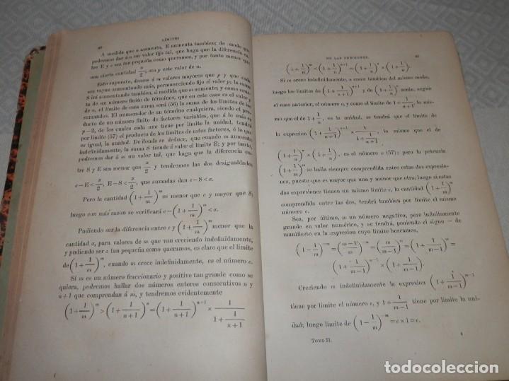 Libros antiguos: ANTIGUO LIBRO DE ALGEBRA - 1881 - Foto 3 - 243220995