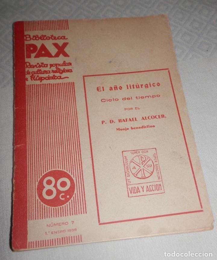 BIBLIOTECA PAX - 1936 (Libros Antiguos, Raros y Curiosos - Libros de Texto y Escuela)