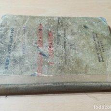 Libros antiguos: LENGUA ESPAÑOLA Y LITERATURA / MIGUEL ALLUE SALVADOR, INSTITUTO GOYA ZARAGOZA / BURGOS 1936 / AE302. Lote 243648400