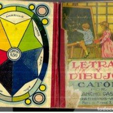 Livros antigos: LETRAS Y DIBUJOS - CATÓN ( AÑO 1927 ). Lote 244730180