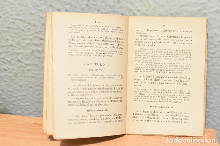 Libros antiguos: EPÍTOME de GRAMATICA-REAL ACADEMIA ESPAÑOLA- 1938 - Foto 2 - 244876975