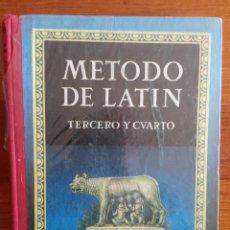 Libros antiguos: MÉTODO DE LATÍN. EDELVIVES. Lote 245474030