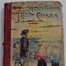 Libros antiguos: LECCIONES DE COSAS - LIBRO TERCERO - JOSÉ DALMÁU CARLES - GERONA AÑO 1909. Lote 247410045