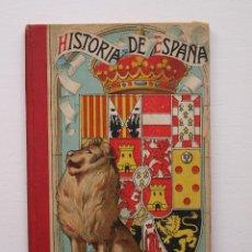 Libros antiguos: HISTORIA DE ESPAÑA - GRADO ELEMENTAL 1910 - JUAN BOSCH CUSÍ. Lote 247975480