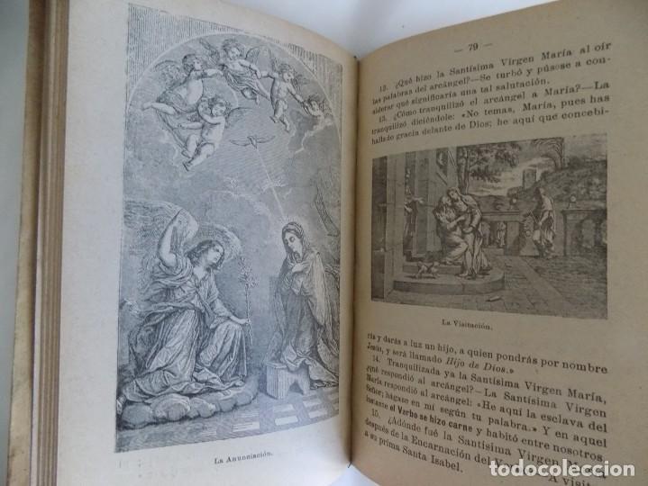 Libros antiguos: LIBRERIA GHOTICA. MARIANO DE ZARCO. COMPENDIO DE HISTORIA SAGRADA. GRADOS 1 Y 2.1900.MUCHOS GRABADOS - Foto 3 - 253118285
