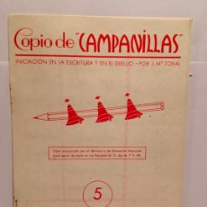 Libros antiguos: CUADERNO CARTILLA ESCUELA CAPANILLAS Nº 5 AÑO 1958. Lote 254033470