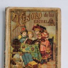 Libros antiguos: L-2033. TESORO DE LAS ESCUELAS ED. CALLEJA. MADRID. EDICION CORRIENTE A.. Lote 254201240