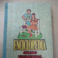 Libros antiguos: 1947 ENCICLOPEDIA CICLICO PEDAGÓGICA POR JOSÉ DALMAU CARLES GRADO ELEMENTAL 400 GRABADOS CON 430 PG. Lote 254360485